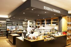 Vier Jahreszeiten, an Organics Food Store that designed by GmbH is located in Bad Honnef-Rhondorf, Germany