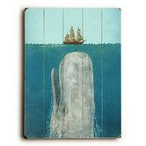 Found it at Wayfair - The Whale Painting Print Plaque
