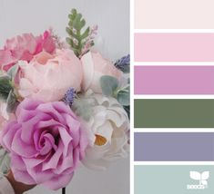 Explore Design Seeds color palettes by collection. Bedroom Color Schemes, Colour Schemes, Color Combos, Color Patterns, Color Harmony, Color Balance, Design Seeds, Color Concept, Flora Design