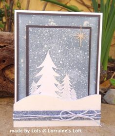 Ice Inspiration by yorkshire lass - Cards and Paper Crafts at Splitcoaststampers