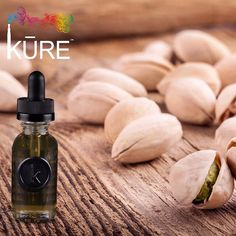 Enjoy one of our new creamy and buttery KURE on Tap #ejuice flavors, Pure Pistachio, and get crackin!
