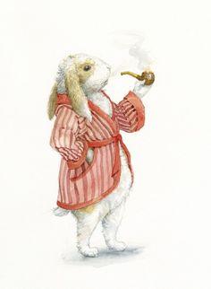 """Norbert the Rabbit"" by Rafael Perez (06/15/14)"