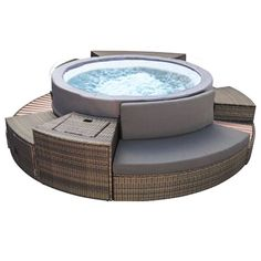 Spas, Structures Gonflables, Outdoor Furniture, Outdoor Decor, Places, Garden, Exterior Siding, Insulation, Massage