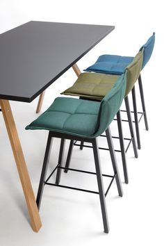 Counter stool with footrest LAB BAR Lab Collection by Inno Interior Oy | design Harri Korhonen @innointerior