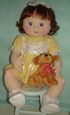Intermediate Category - Baby Dolls - 2014 Cloth Doll Challenge - Doll Net