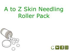 A to Z #Skin Needling #Roller Pack