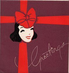 Vintage Greeting Card Christmas