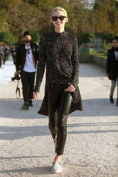 Modelos en la Paris Fashion Week » Todo lo que pasa en Internet - www. ff307e659cb