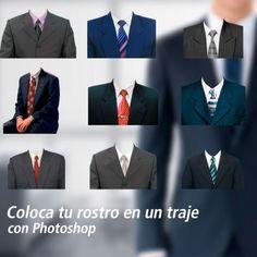 Imágenes de trajes para tu foto carnet Free Photoshop, Photoshop Design, Album Design, Photoshop Photography, Couple Posing, Suit Jacket, Menswear, How To Wear, Pictures