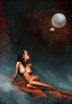 Dejah Thoris- Pierluigi Abbondanza