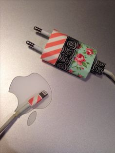Geniaal idee, met washitape van de HEMA! #iPhone #hema #washitape