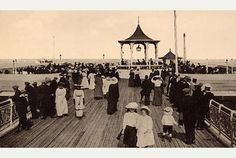 Mumbles Pier, Wales before the First World War.