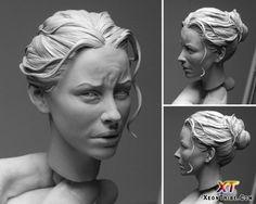 Hyper realistic sculpture