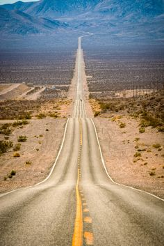 Photograph Highway to Death Valley by Miles Smith on 500px