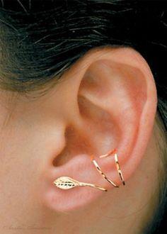 Sterling Silver Pierceless Left Only Ear Cuff Wrap Earring by Best Sellers