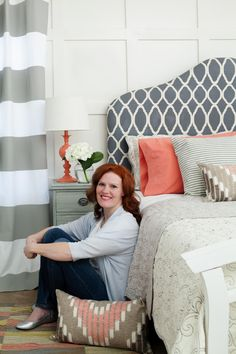 Beckie of Infarrantly Creative was featured in BHG for her DIY headboard. Go behind-the-scenes of her shoot on Style Spotters: http://www.bhg.com/blogs/better-homes-and-gardens-style-blog/2013/04/23/i-did-it-beckie-of-infarrantly-creative/?socsrc=bhgpin042413diyheadboard