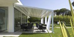 COBERTI Techo móvil impact en porche. #techo #móvil #impact #porche #jardín #corradi #coberti #malaga