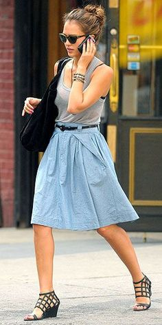 100 Inspirations | celebrity style for less : Jessica Alba Style < $105