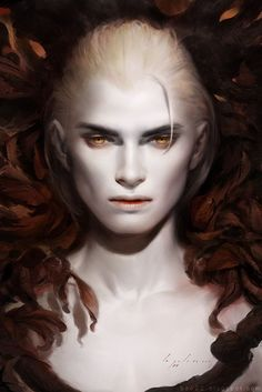 """Then there was that other year I was a vampire... """"A world of subtle greys and vampires (Stunning Fantasy Digital Art by Bao Pham 