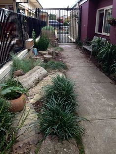 This picture shared by Play to Learn is a beautiful example of how even the narrowest of patches can become a magical space for children to play, explore and discover.