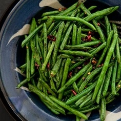 Sichuan Style Stir-Fried Chinese Long Beans Recipe - ZipList