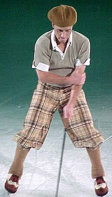 Scott Hamilton--always a true entertainer.