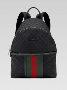 55bc6d448c0 Gucci-mens-medium-backpack-with-signature-web-detail-