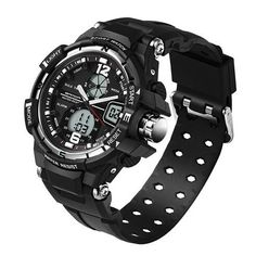 Mens Sports Diving Camping Water Proof Watch - is built to withstand dirt and debris no matter how mucky the environment. With new colors, this is a sport inspired Mens Watch. MensWatchSales.com