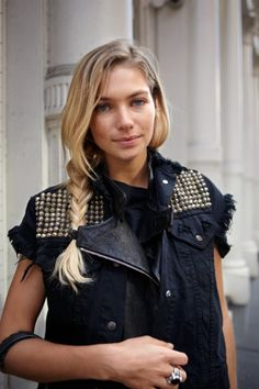 AAS: How to wear a moto vest? 1. With a long sleeve maxi 2. Paired with a Print 3. Instead of a jacket