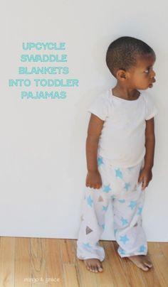 Whaaa? i love them!  www.mingoandgrace.com muslin swaddle blanket pajamas