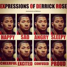 Derrick Rose - so true!