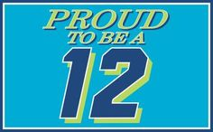 Seattle Seahawks Proud To Be A 12 3'x 5' NFL Flag