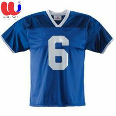 Custom Football Jerseys - Coolmax Mesh - Dazzle - Knitted collar - 330 GSM  - Non 83895d676