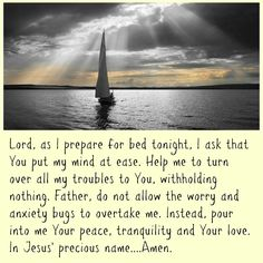 Before bed prayer