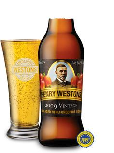 Henry Westons Vintage Cider  Summer in a bottle !!