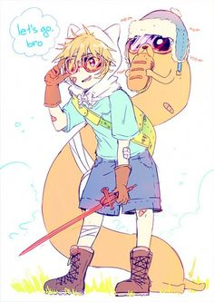 Anime Finn and Jake!