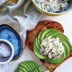 Tuna salad avocado  toast #avocadotoast