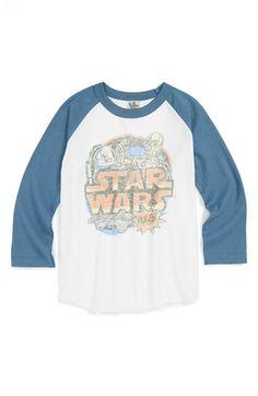 Junk Food 'Star Wars™' Baseball T-Shirt (Toddler Boys) available at #Nordstrom $28.00