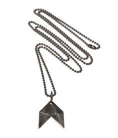 Qvist Jewellery | Urban Desert Necklace – Oxid | €107 | ENIITO