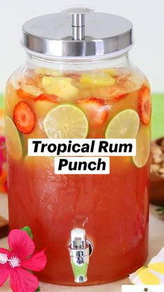 Fruity Alcoholic Drinks, Summer Alcoholic Punch, Summer Mixed Drinks, Bbq Drinks, Refreshing Summer Drinks, Liquor Drinks, Yummy Drinks, Beverage, Cocktails