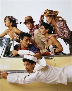 I was such a fan of 'Friends'. Still am in fact!