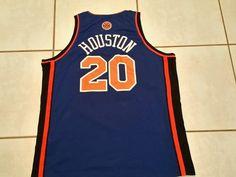 Vintage NIKE New York Knicks Allan Houston STITCHED NBA Jersey  Men's 2XL #Nike #NewYorkKnicks