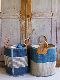love the tote baskets