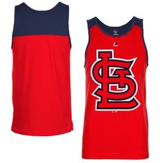 Majestic St. Louis Cardinals Game Day Tank Top - Red - Shop.Baseballhall.org