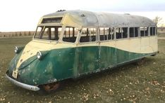 Ford Flathead V8 Pusher: 1938 Gar Wood Bus #USA #Bus, #Ford, #Project - https://barnfinds.com/ford-flathead-v8-pusher-1938-gar-wood-bus/