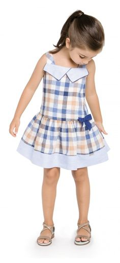 Super col Pili Carrera moda infantil para esta primavera verano www. Little Girl Outfits, Little Girl Fashion, Little Girl Dresses, Toddler Fashion, Kids Outfits, Kids Fashion, Baby Girl Dresses, Baby Dress, Cute Dresses