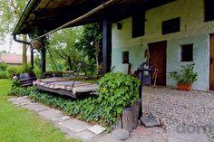 Originálne hojdacie lôžko pod Patio, Outdoor Decor, Plants, Home Decor, Decoration Home, Room Decor, Plant, Home Interior Design, Planets