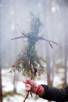 Sacrificing the Yule greenery so spring may come. Fire Festival, Seasonal Celebration, Witch Aesthetic, Sabbats, Arte Floral, Book Of Shadows, Wiccan, Crafts, Holidays