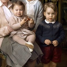 Princess Charlotte and Prince George's outfits revealed