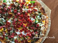 PPM best low carb pizza ever!!!!!